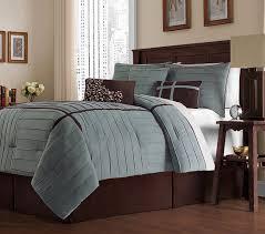 Amazon Victoria Classics Ellington 7 Piece Comforter Set King Blue Bedroom IdeasCozy