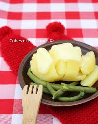 cuisine pour bebe raclette pour bébé recette par cubes et petits pois diversification