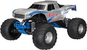 100 Rc Model Trucks Traxxas Bigfoot Brushed 110 RC Model Car Electric Monster Truck RWD