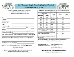 100 Food Truck Insurance Cost 2017 Riverfest App Rules Ormond Beach Mainstreet