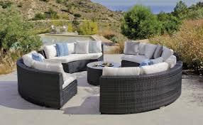 canap salon de jardin jardin cercle et table basse salermo