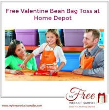 Bring The Kids To A Home Depot Workshop Where They Can Make And Keep Free Valentine Bean Bag Toss