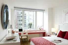 Modern Chic Bedroom Interior Design Chelsea Landmark Residential Apartment Manhattan NYC