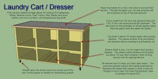 6 Drawer Dresser Plans by Ana White Laundry Basket Dresser With Picture Top Diy Projects