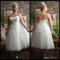 Wholesale Tea Length Wedding Dress Buy Cheap Tea Length Wedding