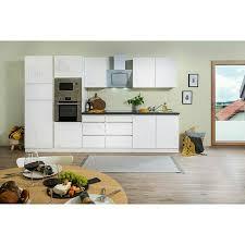 respekta premium küchenzeile glrp335hwwgke
