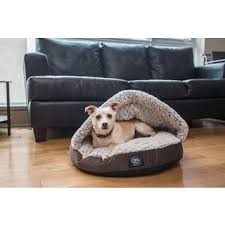 serta pet bed snuggle sherpa nest free shipping on orders over