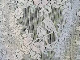 Lace Curtains Panels With Attached Valance by French Lace Curtains Modern Simple Plaid Lace Sheer Curtain For
