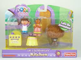 Dora The Explorer Kitchen Set by Fisher Price Dora The Explorer Kitchen Lets Go Adventure Playset
