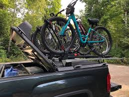 A Custom Bike Rack Mounted To A Heavy Duty Truck Bed Cover… | Flickr Thule Gmc Canyon 2015 Bed Rider Truck Bike Rack Sunlite Mount Truck Bed Mount Youtube Cheap For A Pickup 7 Steps With Pictures Pvc Hittin The Road Pinterest Building Your Own Bike Rack Mtbrcom Bicycle Carriers Racks Lets Go Aero Amazoncom Saris Unique Triple Track Fork The Classic And Antique Exchange Rocky Mounts Honda Ridgeline System Lock Bcca Carrier