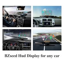 Halloween Hologram Projector Kopen by Amazon Com Bzseed Head Up Display Car Hud Phone Gps Navigation