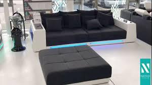 nativo möbel österreich big sofa vice mit led beleuchtung