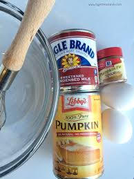 Pumpkin Pie Sweetened Condensed Milk by Mini Pumpkin Pies Together As Family