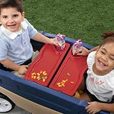 Step2 Tan 2 In 1 by Amazon Com Step2 Whisper Ride Touring Wagon Toys U0026 Games