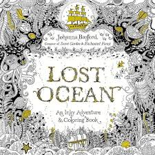 Lost Ocean An Inky Adventure And Coloring Book Pocket