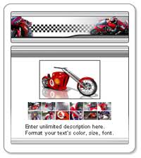 Free EBay Motorcycle Auction Templates