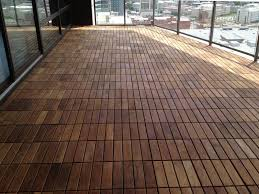 Teak Outdoor Balcony Flooring Ideas