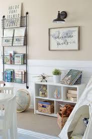 Decorating Bookshelves In Family Room by Best 25 Playroom Shelves Ideas On Pinterest Kids Playroom