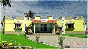 100 Duplex House Plans Indian Style Tamilnadu Style Single Floor Duplex House Plan Kerala Home