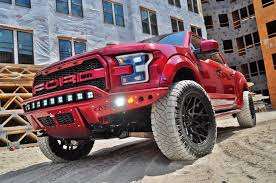 100 Shelby Elliott Trucks 2017 Ford F150 Svt Raptor Custom Show Truck Crew Cab Ruby Red New