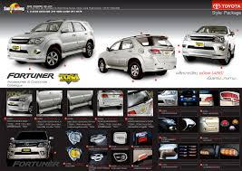 Automotive Accessories For Suv, Pickup, Truck, Van From Thailand