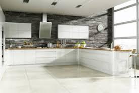papier peint cuisine gris cuisine blanche grise 25 designs armoires blanches mur papier