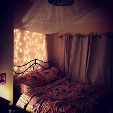 Black Canopy Bed Drapes by Very Small Teenage Attic Bedroom Design With Hanging White