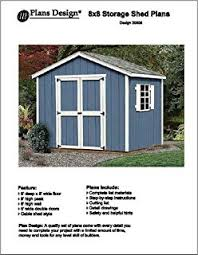 10 X 16 Shed Plans Gambrel by 10 X 8 Barn Gambrel Storage Shed Project Plans Design 31008