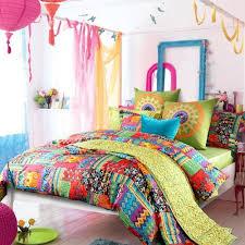 Amazon LELVA Bohemian Exotic bedding Colorful Modern Duvet