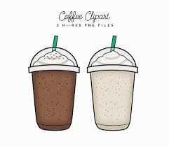 Coffee Clipart Iced Blended Mocha Java