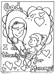 Mother Daughter Coloring Pages Mom Mothers Day Free Book Printable Sheets Full Size