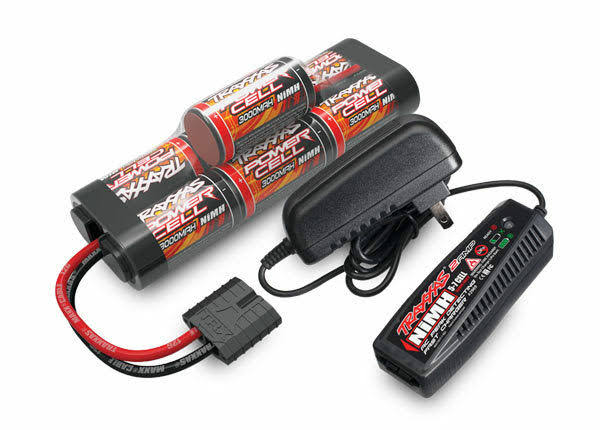 Traxxas Battery/Charger Completer Hump Pack with 2-Amp Fast Charger and 8.4V NiMH
