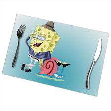 Amazon.com: LIUYAN Placemats CoolBob And Gary Spongebob ... Spongebob Square Pants Camper Van 72 In X 126 Spongebob Pants Xl Chair Rail 7panel Prepasted Wall Mural Diy Pores Table Covers Nickelodeon Squarepants Toddler Bean Bag Chairs In The Krusty Krab Oleh Annisa 2019 House Bezaubernd Wooden Kids Table And Chairs Rentals Lif Childs Characters Spongebobs Room Paw Patrol Alex Toys Mrs Puffs Boating School Toy Alexbrandscom