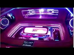 Car Interior Lighting Sound Active Million Color LED Light