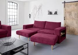 looks by wolfgang joop 4 sitzer verwandlungssofa aus sofa wird sofa mit 2 hockern mit regalfunktion in beiden armteilen kaufen otto