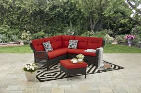 100 Mainstay Wicker Outdoor Chairs S Briar Creek 4 Pc Sectional Set