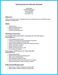Banking Resume Sample For Fresh Graduate And Objective Examples Investment