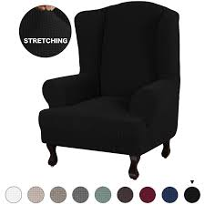 Turquoize Stretch Wing Chair Slipcover Wingback Armchair Chair Slipcovers  Spandex Jacquard Sofa Covers 1-Piece Spandex Fabric Wing Back Wingback ... Lisle White Slipcover Wingback Host Chair Black Blue Ding Covers Round Back Room Chun Yi 2piece Stretch Jacquard Spandex Fabric Wing Armchair Slipcovers Tcushion For Walmart Fireside Floral Winsome Big Man Recliner Brown Power Boy Gray Wingbacks With Damask By Shelley Cube Target Pottery Bar Slipcovered Pattern Sewi Capri Captain Cdi Fniture