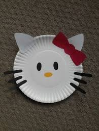 Just Cut Shapes From Scrapbook Paper And Glue To Plate Would Be An Easy Party Craft