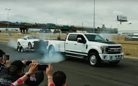 100 Dually Truck For Sale Shelby 1000 F350 Dually Smokes Its Tires With Massive Torque