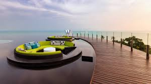 100 W Hotel Koh Samui Thailand Cool S Of The Orld The Retreat