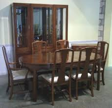 classic craigslist dining room table and chairs