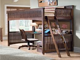 Twin over Full Bunk Bed with Desk Kids Twin Over Full Bunk Bed