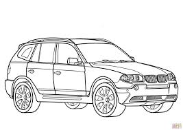 Bmw X3 Car Coloring Page