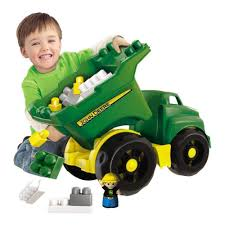 100 Big Toy Dump Truck Mega Bloks John Deere Large Vehicle 65541808010 EBay