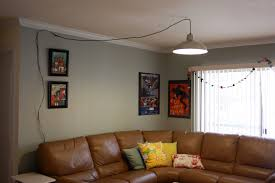 Hanging Chain Lamps Ikea by Diy Swag Light Live Free Creative Co