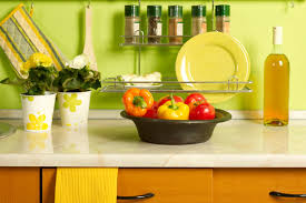 How To Decorate A Yellow Kitchen Decor