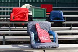 Stadium Chairs For Bleachers With Arms by The Best Cushioned Stadium Seats Of 2017 Your Best Digs