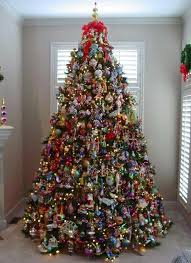 Decorated Christmas Trees Ideas Professional Tree Decorating Idea