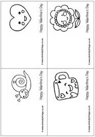 Valentines Day Colouring Cards